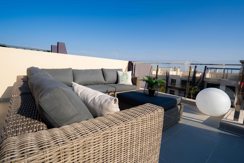 Feel Good Apartment | Playa Elisa Costa | Dakterras zitgedeelte