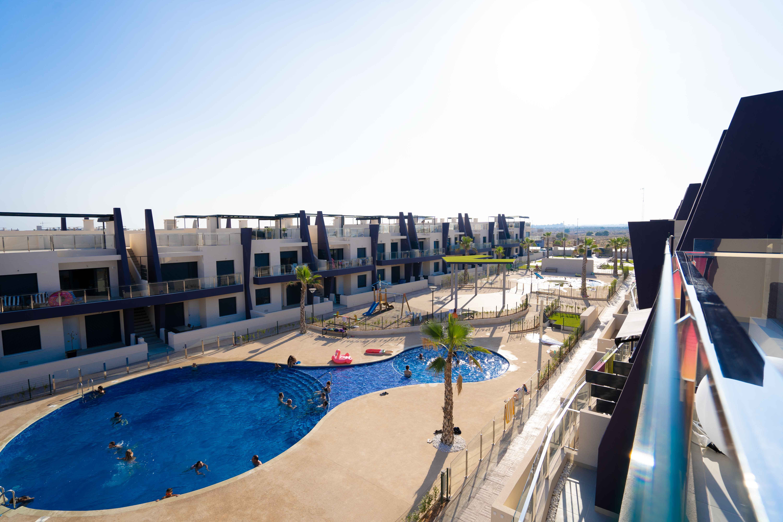 Feel Good Apartment | Playa Elisa Costa | Dakterras uitzicht zwembad
