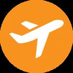 Vliegtuig-pictogram