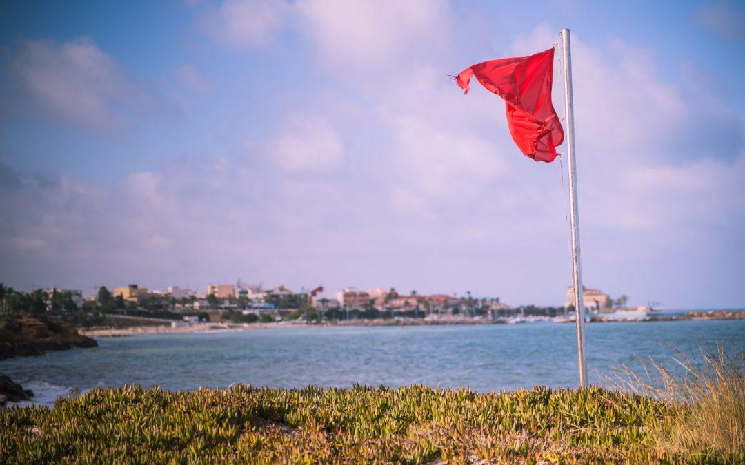 Betekenis strandvlaggen Spanje